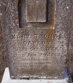 Mary Thomas Dawson