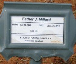 Esther Josephine <i>Williams</i> Millard