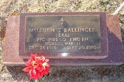 Milburn Ballinger