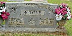 Bessie <i>Eddings</i> Boothe