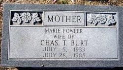 Gladys Marie <i>Fowler</i> Burt