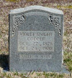 Violet Knight <i>Boyett</i> Cooper