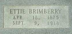 Georgia Etta Ettie <i>Kincaid</i> Brimberry