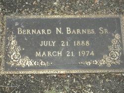 Bernard Nod Paw Barnes Barnes, Sr