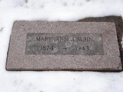 Mary Ann <i>Klepzig</i> Cauhn