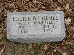 Louise Delphine <i>Holmes</i> Bisbee