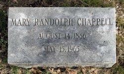 Mary <i>Randolph</i> Chappell