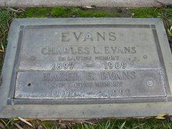 Hazel Elizabeth <i>Haller</i> Evans