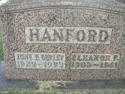 June F <i>Hanford</i> Berley