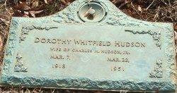 Dorothy Proctor <i>Whitfield</i> Hudson