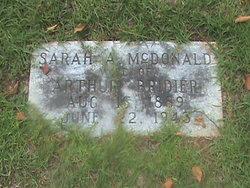 Sarah Adelina <i>McDonald</i> Bridier