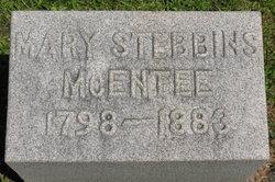 Mary <i>Stebbins</i> McEntee