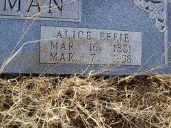 Alice Effie <i>Kirklen</i> Freeman