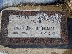 Nora I <i>Wright</i> Averett