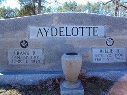 Willie <i>Hubbard</i> Aydelotte