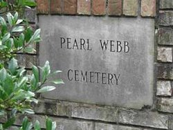 Pearl Webb Cemetery at Canmer