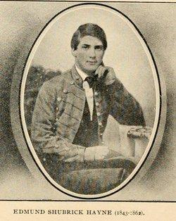 Corp Edmund Shubrick Hayne