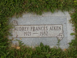 Audrey Frances Aiken
