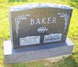 Lois Jean <i>Harshbarger</i> Baker