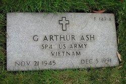 Spec G. Arthur Ash