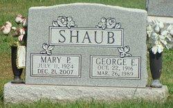 Mary P. <i>Lang</i> Shaub