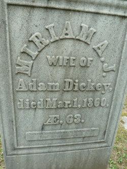 Miriama J. Dickey
