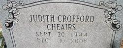 Judith Ana Judy <i>Crofford</i> Cheairs