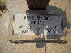 Beaulah Mae <i>Stone</i> Hodge