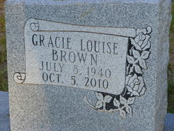 Gracie Louise <i>Payne</i> Brown