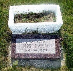 Gladys Agness <i>Sommerfield</i> Highland
