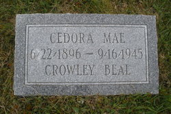 Cedora Mae <i>Crowley</i> Beal