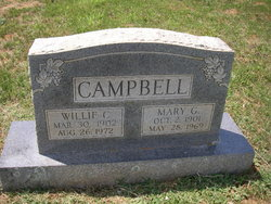 William Clarence Willie Campbell