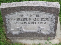 Catherine <i>Minson</i> Anderson