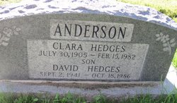 Clara H. <i>Hedges</i> Anderson