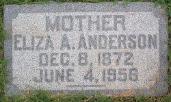 Eliza A Anderson