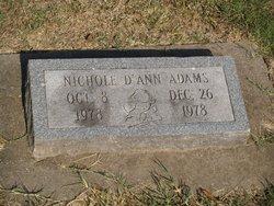 Nichole D'Ann Adams