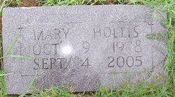 Mary <i>Gilreath</i> Hollis