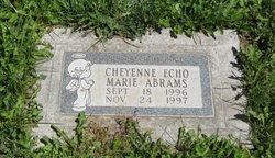 Cheyenne Echo Marie Abrams