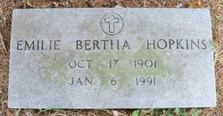 Emilie Bertha Hopkins