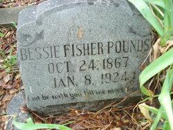 Elizabeth Bessie <i>Fisher</i> Pounds