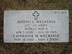 Joseph C Weckerle