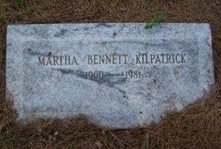 Martha <i>Bennett</i> Kilpatrick