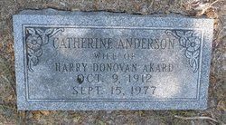 Catherine <i>Anderson</i> Akard