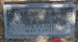 Harry Donovan Akard