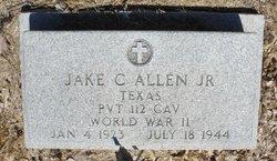 Pvt Jake Curby Allen, Jr