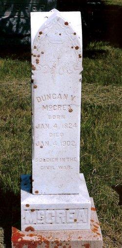 Duncan Van Allstyne McCrea