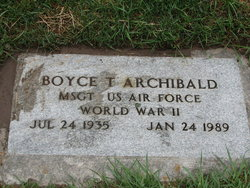 Boyce Tims Archibald