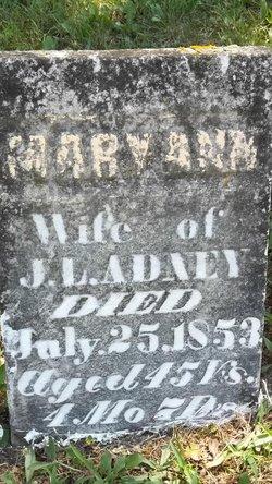 Mary Ann <i>Pierce</i> Adney