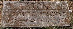 Florence Augusta <i>Benson</i> Aton