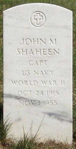 John Michael Shaheen